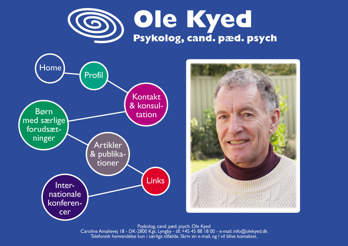 Psykolog, cand. pæd. psych. Ole Kyed